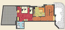 Layout apartment Holiday